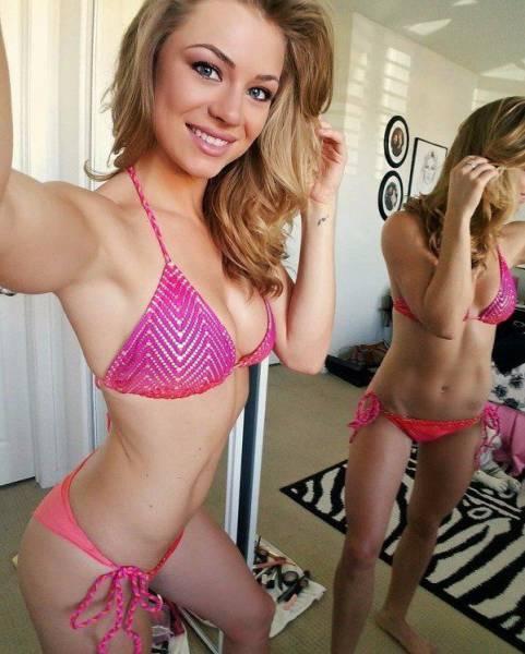 Сексуальные и прелестные девушки в бикини (60 фото)