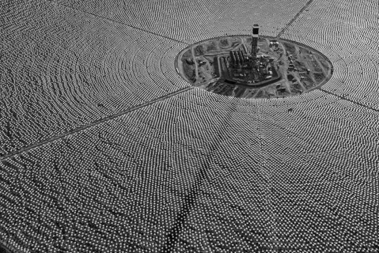Самая крупная электростанция по переработке солнецной энергии в мире