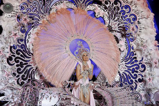 Конкурс за звание королевы карнавала Санта-Крус-де-Тенерифе 2014
