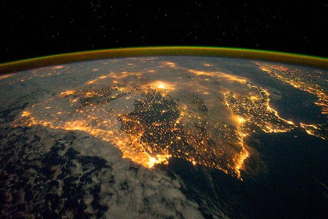 NASA опубликовало серию настоящих космических фотографий