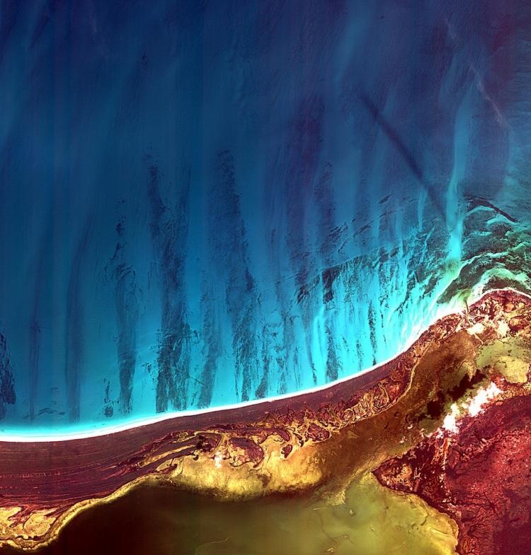 Наша прекрасная планета из космоса