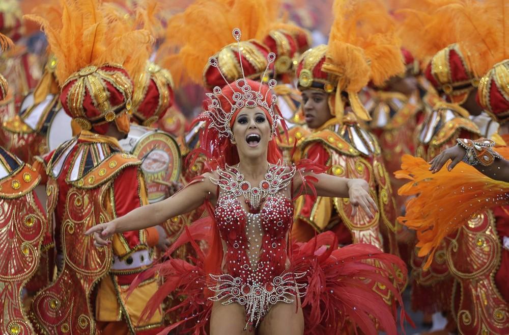 Начался карнавал в Бразилии 2014 (27 фото)