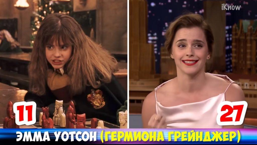 """Актеры фильма """"Гарри Поттер"""" тогда и сейчас."""