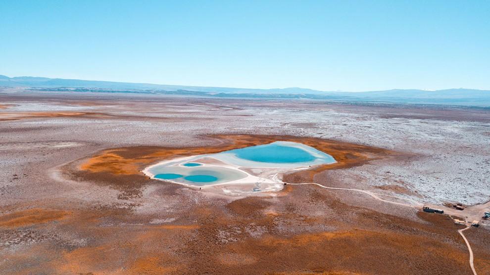 Удивительные неземные пейзажи пустыни Атакама ( 16 фото )