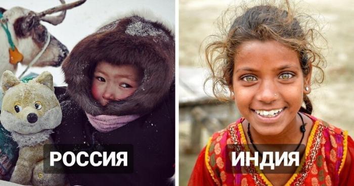 Как выглядит детство в разных уголках планеты (24 фото)