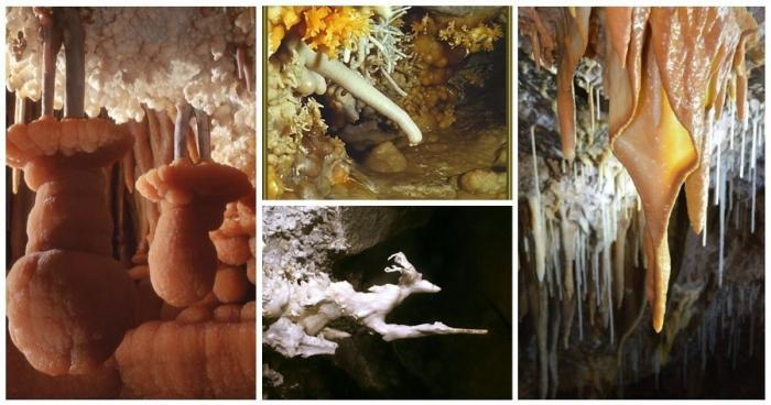 Сталагмиты и сталактиты как из сказки (30 фото)